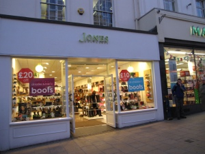 Shops in Leamington Spa